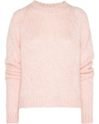Christopher Kane Mohairblend Sweater - Lyst