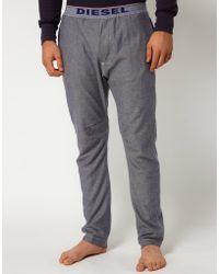 Diesel Jersey Lounge Pants - Lyst