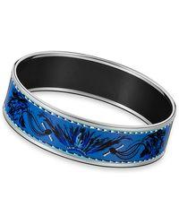 Hermès Enamel Bracelet blue - Lyst