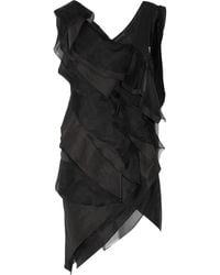 Donna Karan New York Tiered Organza Tunic - Lyst