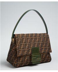 Fendi Zucca Borsa Mamma Shoulder Bag 68