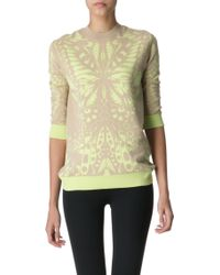 McQ by Alexander McQueen Butterfly Knitted Jumper - Lyst