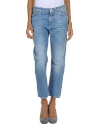 Acne Denim Pants - Lyst