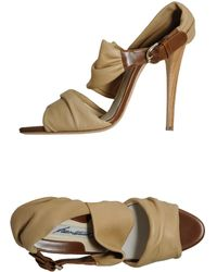 Brian Atwood Highheeled Sandals - Lyst