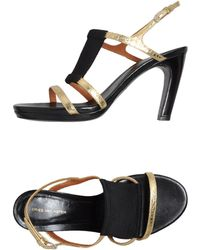 Dries Van Noten Platform Sandals - Lyst