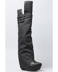 Jeffrey Campbell The Zealot Boot in Black - Lyst