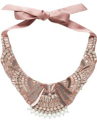 Temperley London Deco Mirror Necklace - Lyst