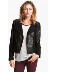Trouvé Quilted Moto Jacket - Lyst