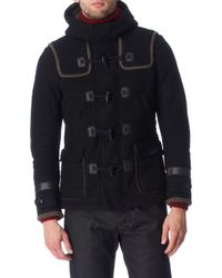 Diesel Black Whitaker Coat - Lyst