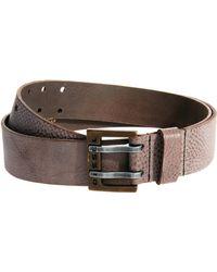 Diesel Leather Belt - Lyst