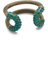 Giles & Brother Encrusted Cortina Cuff - Lyst