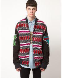 Horace - Varsity Tribal Jacket - Lyst