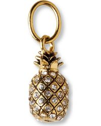 Juicy Couture - Pineapple Charm - Lyst