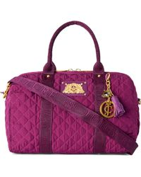 Juicy Couture Steffy Quilted Bowling Bag - Lyst