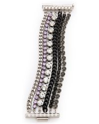 Juicy Couture - Rhinestone Multi Layer Bracelet - Lyst