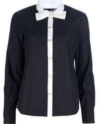 Love Moschino Twotone Blouse - Lyst