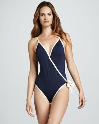 Marc By Marc Jacobs - Woodward Wrap One Piece - Lyst