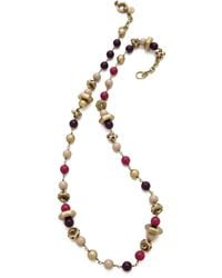 Marc By Marc Jacobs Bolts Galore Long Necklace - Lyst