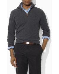 Polo Ralph Lauren Half Zip Pullover - Lyst