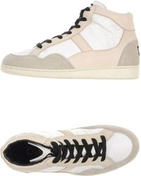 D&G Hightop Trainers - Lyst