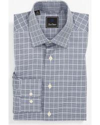 David Donahue Regular Fit Dress Shirt - Lyst