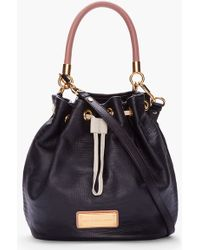 Marc By Marc Jacobs Black Too Hot To Handle Drawstring Bag - Lyst