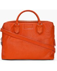 Marc By Marc Jacobs - Burnt Orange Monsieur Marc Lean Briefcase - Lyst