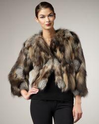 Tasha Tarno - Cross Fox Fur Chubby - Lyst
