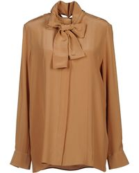 Chloé Long Sleeve Shirt - Lyst