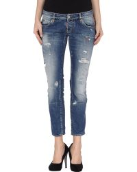 DSquared2 Denim Trousers - Lyst