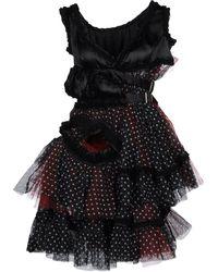 Comme des Garçons Short Dress - Lyst