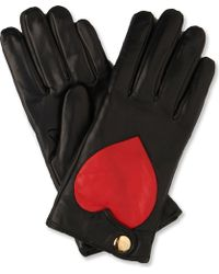 Vivienne Westwood - Heart Print Ladies Gloves - Lyst