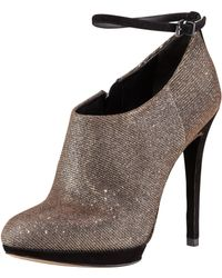 B Brian Atwood - Womens Sparkle Anklestrap Bootie - Lyst