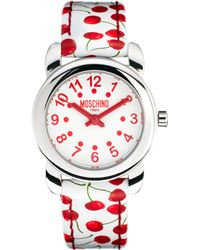 Moschino Cheap & Chic Lets Picnic Cherry Watch - Lyst