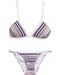Anna & Boy | Seersucker Striped Bikini | Lyst
