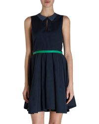 Boy by Band of Outsiders Sleeveless Tromp Loeil Dress - Lyst