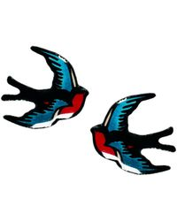 Tatty Devine - Swallow Earrings - Lyst