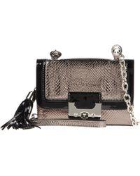 Diane von Furstenberg Small Leather Bag gold - Lyst