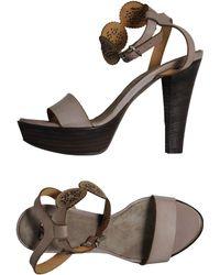 Mare Platform Sandals - Lyst