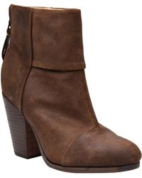 Rag & Bone Waxed Newbury Boot - Lyst