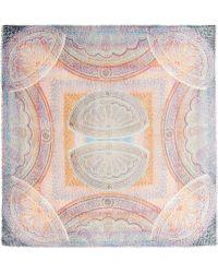 Athena Procopiou - La Sultana Printed Modal and Linenblend Scarf - Lyst