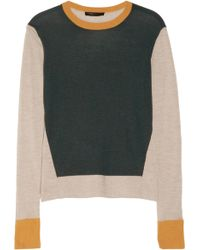The Row Kent Fineknit Cashmere and Silkblend Sweater - Lyst