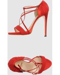 Arfango Highheeled Sandals - Lyst