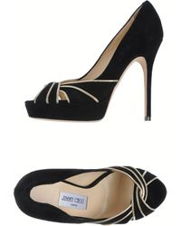 Jimmy Choo Courts with Open Toe - Lyst