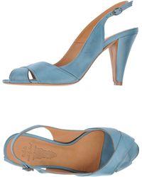 NDC Highheeled Sandals - Lyst