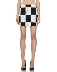 Kelly Wearstler Craft Skirt in Ink - Lyst