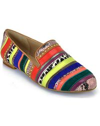 Steve Madden Bright Multicolored Loafer - Lyst