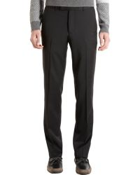 Band of Outsiders Twill Trousers black - Lyst