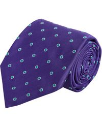 Barneys New York Miniature Dot Tie - Lyst