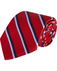 Barneys New York Narrow Stripe Tie - Lyst